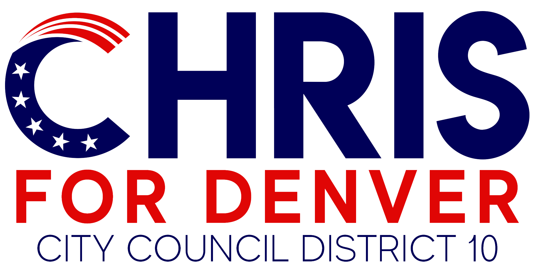 Chris for Denver logo